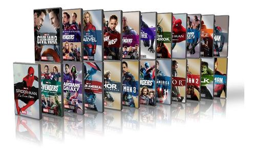 Colección Avengers Universo Cinematografico Marvel Completa