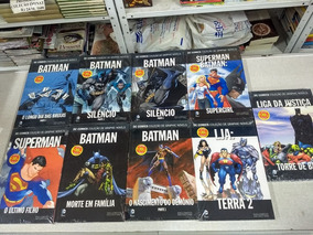 Graphic Novels Batman Lja Liga Justiça 39,90 Cada Novo