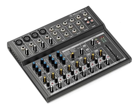 Mesa De Som Mackie 12 Canais Mix12fx Com Efeitos