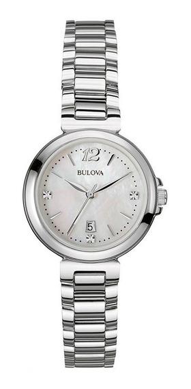 Relógio Bulova Feminino Diamond Wb27903q / 96p149
