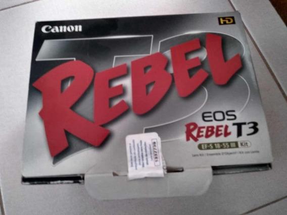 Câmera Fotografica Digital Canon Eos T3