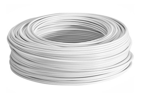 Rollo De Cable Calibre 12 Thw 100 Metros Blanco