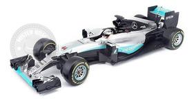 Miniatura F-1 Mercedes W07 Hybrid Lewis Hamilton 1/18