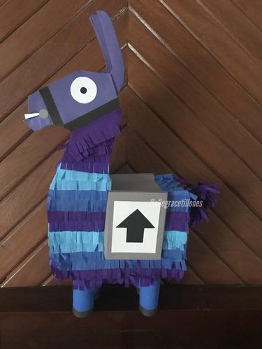 Imagen 1 de 4 de Piñatas Infantiles Fortnite Cumpleaños. Allegracotillones.