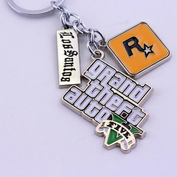 Llavero Gta 5 Rock Star Grand Theft Auto Ps4