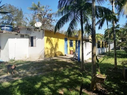 Chácara Escriturada E Perto De Vizinhos Em Itanhaém Litoral