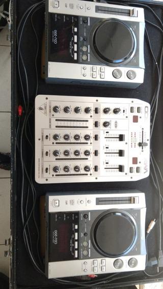 Cdj 200 Pionner (par) + Mixer Vmx 300 + Maleta P Transporte