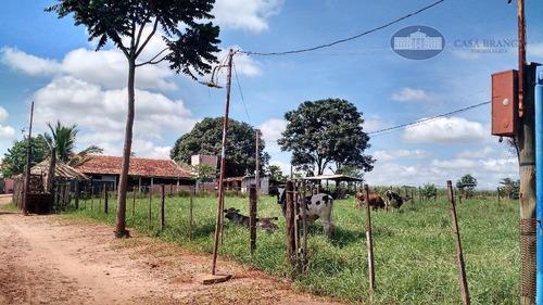Chácara Com 2 Dormitórios À Venda, 5025 M² Por R$ 350.000,00 - Rancho Grande - Guararapes/sp - Ch0007
