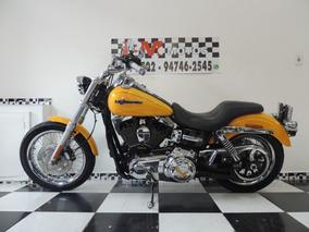Harley Division Dyna Super Glide Custom 2013 Amarela