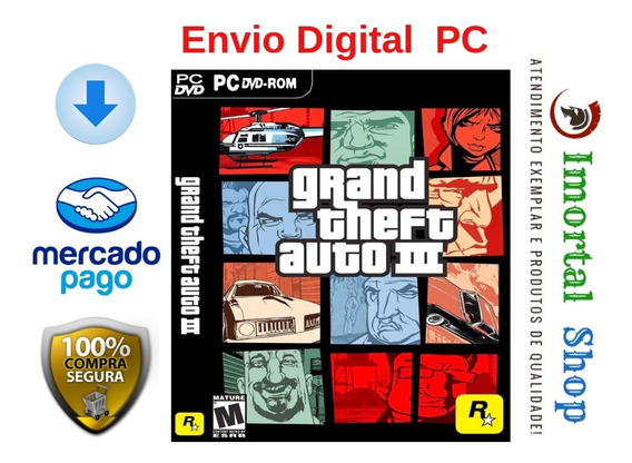 Gta 3 Mídia Digital Ptbr Pc