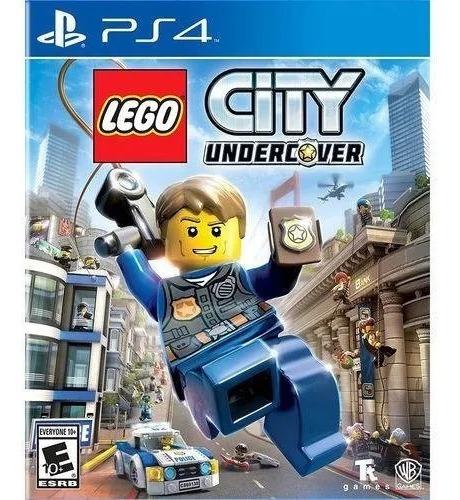 Jogo Lego City Undercover Ps4 Mídia Física Português Lacrado