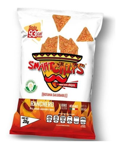 Smartchips Snack Botana Saludable Ranchero  20 Pz