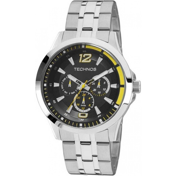 Relógio Technos Masculino Performance Racer 6p29ahw/1y C/ Nf