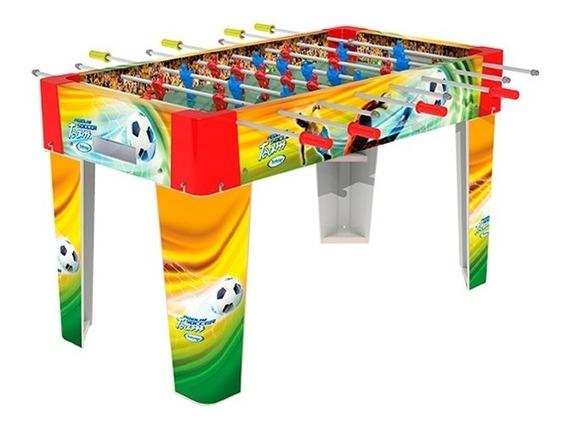 Mesa Pebolim Futebol Team Xalingo Mdf 67332