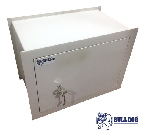 Caja Fuerte Llave Tesoro Reforzada 33x43x25 Para Piso Pared
