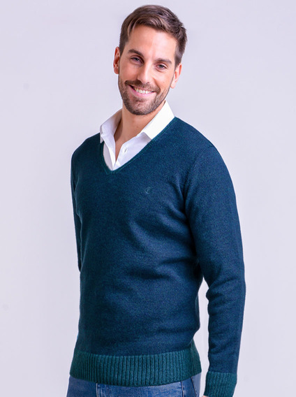 Sweater Escote En V Mauro Sergio !