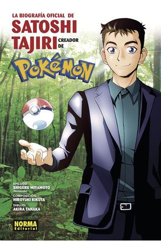 Biografía Oficial De Satoshi Tajiri - Creador Pokémon