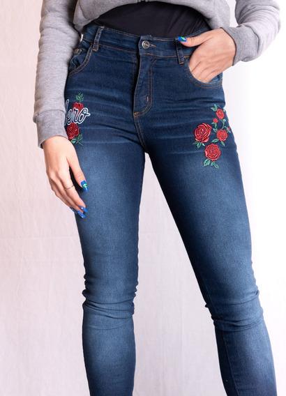 Jeans Aeropostale Roses Girl Herald Square Mujer Aero