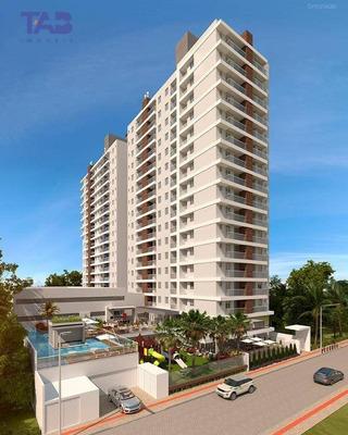 Apartamento Semi Mobiliado Para Locação - Total Área De Lazer - Itajaí/sao Judas - Ap0858
