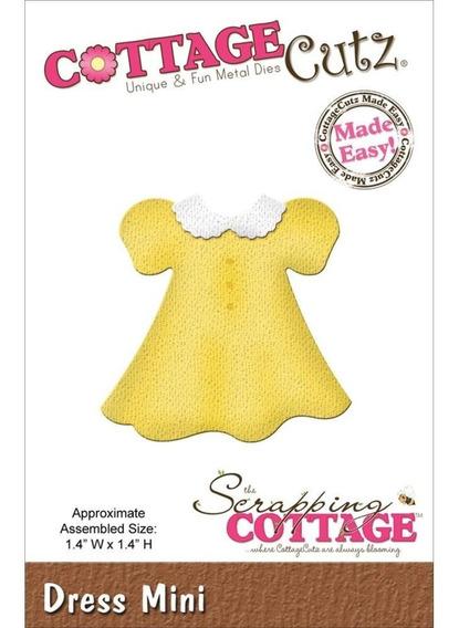 Troqueladora Vestidito Dress Mini Cottage Cutz