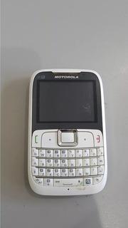 Celular Motorola Ex 430 Funcionando Normal Os 1584