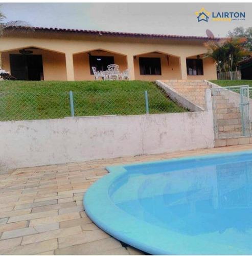 Chácara Com 4 Dormitórios À Venda, 12000 M² Por R$ 700.000 - Araujo - Nazaré Paulista/sp - Ch1311
