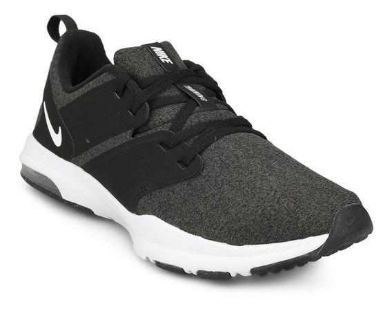 Zapatillas Nike Air Bella - Gris Y Negro - Competencia
