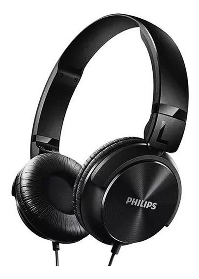 Fone De Ouvido Philips Head Preto Shl3060bk/00