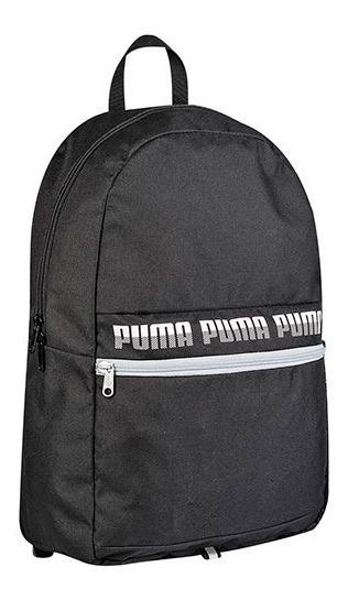 Mochila Puma Phase Backpack 075592-01 Negro Unisex Pv