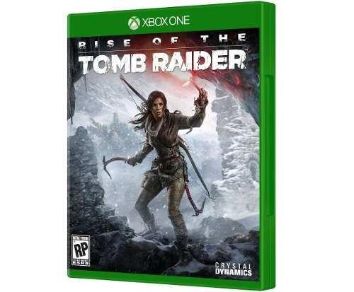 Jogo Rise Of The Tomb Raider De Xbox One Totalmente Em Pt-br