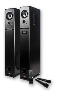 Parlantes Bluetooth Noga Neptuno 60w Karaoke Usb Sd Fm 2 Mic