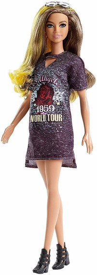 Barbie Fashionista Colecionador Rockstar Glam