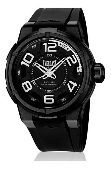 Relógio Pulso Everlast Torque E684 Caixa Abs Pulseira Preto
