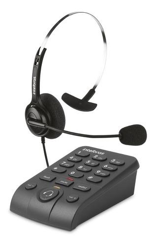 Telefone Intelbras Headset C/ Base Discadora Hsb 40