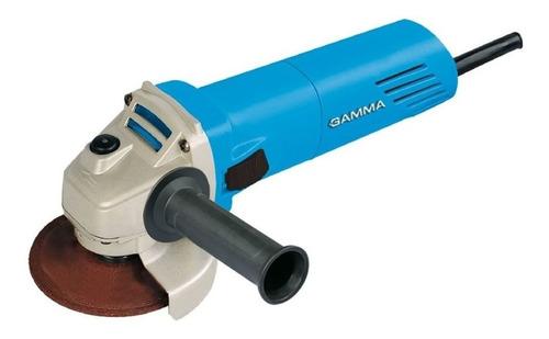 Amoladora angular Gamma G1910  de 50Hz celeste 220V