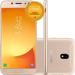 Samsung Galaxy J7 Pro J730g 64gb Dual 4g Dourado Vitrine 3