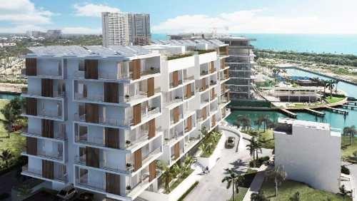 Departamento De Lujo En Venta En Puerto Cancún, Zona Hotelera
