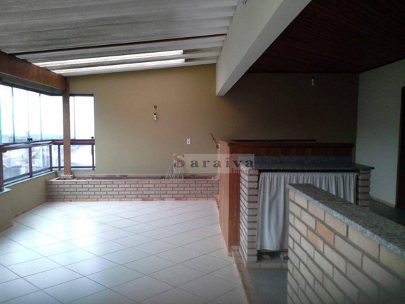 Cobertura Com 3 Dormitórios À Venda, 156 M² Por R$ 590.000,00 - Jardim Hollywood - São Bernardo Do Campo/sp - Co0042