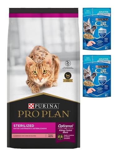 Alimento Pro Plan Sterilized Cat (gatos Castrados) 3 Kg
