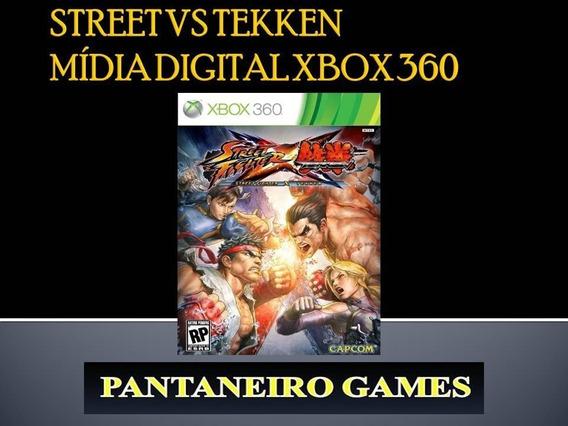 Street Fighter Vs Tekken Xbox 360 Mídia Digital