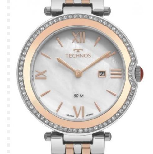 Relógio Technos Elegance Madrepérola Rosé