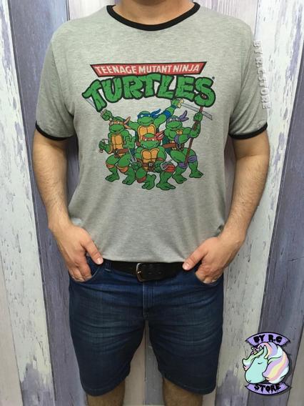 Remera Unisex Tortugas Ninja Tmnt Excelente Calidad