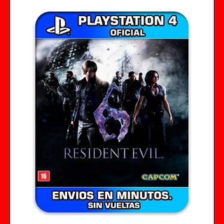 Psn = Resident Evil 6 Ps4 2