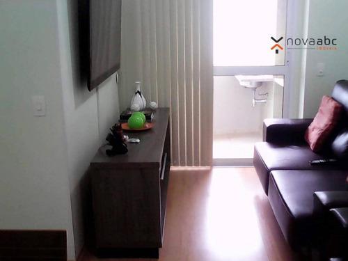 Apartamento Com 3 Dormitórios À Venda, 82 M² Por R$ 530.000 - Casa Branca - Santo André/sp - Ap3357