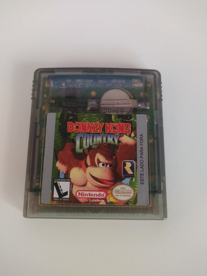 Donkey Kong Country Original Game Boy Color