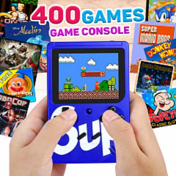 Mini Game Retro 400 Jogos Classicos