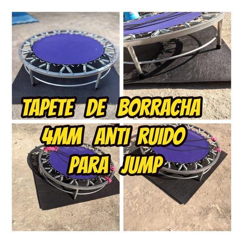 Tapete Emborrachado 4mm 1.20x1.00mts Anti Ruido Para Jump