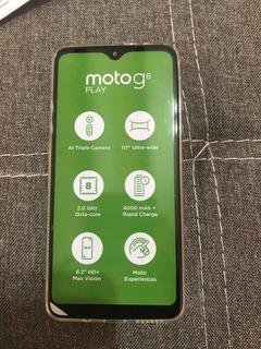 Celular Moto G8 Play Nuevo