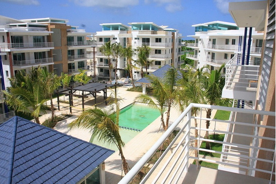 Apartamento Amueblado A La Venta En Punta Cana Village