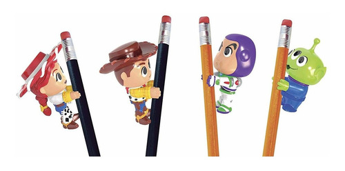 Kit Com 4 Personagens Agarradinhos Toy Story 4 Líder 2597